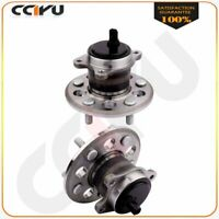 Pair Rear Wheel Hub And Bearing Assembly For Toyota Avalon Camry 2012-2015 5 Lug