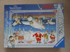 THE SNOWMAN AND THE SNOWDOG 1000 piece jigsaw puzzle RAVENSBURGER 2013