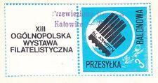 POLAND 1979.VIII.26 Ballon KATOWICE Mail Cat.51 Start KATOWICE-SECEMIN  landing
