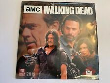 The Walking Dead TV Series 16 Month 2019 Wall Calendar NEW SEALED