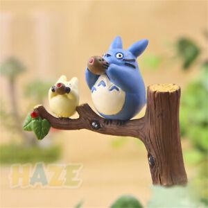 Anime My Neighbor Totoro Studio Stand Tree Ghibli Resin Figures Collection Decor
