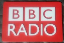 RED BBC Radio Vintage Microphone Call Letters Stand Flag Antique Logo 3D printed