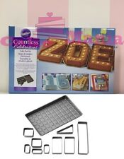 Wilton Mold Baking tin Modular Letters and numbers and Symbols steel Cake mania
