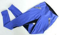 Lucas Hugh blue stretch gym leggings UK S UK 6