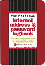 The Personal Internet Address & Password Logbook (Red) (Pocket Book) 1441308148
