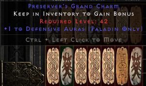 Diablo 2 Resurrected (D2R) Battle.net (PC) Pala Defensive Skill Charm / Skiller