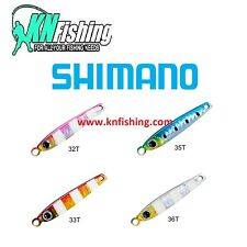 "SHIMANO ""BUTTERFLY METAL SHOT"" Tungsten Jig Shore Jigging Spinning Boat Fishing"