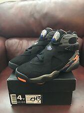 Nike Air Jordan 8 Retro GS  Phoenix Suns Black/Citrus 305368-043 New Sz 4 Youth