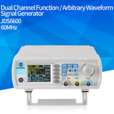 JDS-6600 60MHz Dual-channel DDS Function Waveform Signal Generator Counter CE