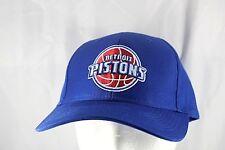 Detroit Pistons Blue NBA Baseball Cap Adjustable