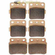 Brake Pads FITS SUZUKI LTZ400 LT-Z400 Quadsport 400 Front Rear Brakes 2003-2009