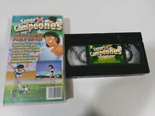 OLIVER BENJI SUPER CAMPEONES UN DESAFIO - VHS CINTA TAPE CASTELLANO &