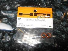 RC HPI Cup Racer Shock Cap Orange (2) 86273