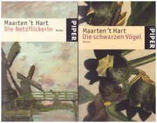 Hart, Maarten 't: Die schwarzen Vögel + Die Netzflickerin (Romane) - 2 Bände