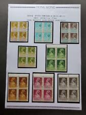 HONG KONG R36A 10c-$50 FULL set B/4 MNH