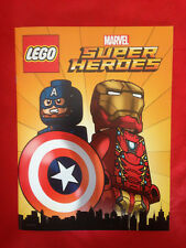 LEGO MARVEL SUPER HEROES SDCC 2016 Exclusive Book MIGHTY MICROS with POSTER
