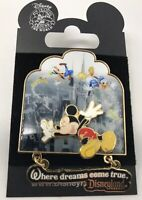 Disneyland/ DLR- Where Dreams Come True Mickey Mouse & Friends PIN  2007 Disney