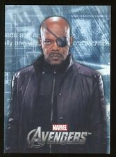 2012 Marvel Avengers Assemble Movie Heroes/Villains Evolve E-42 Nick Fury