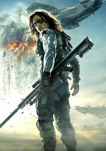 Winter Soldier Poster Captain America A5..A4.. A3.. A2.. options
