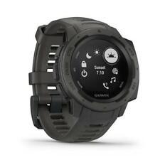 Garmin Instinct HRM Waterproof GPS Multisport Smart Watch - Graphite