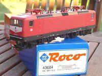 Roco 43684 E-Lok BR 112 153-5 mit kleinen Lampen der DB Ep.4/5 in OVP, mit DSS