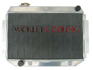 Aluminum Radiator For HOLDEN HQ HJ HX HZ V8 Kingswood 253 & 308 AT/MT 3 Core