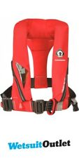 2018 Crewsaver Crewfit 150N Junior Lifejacket Auto With Harness Red 9005RA