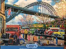 GIBSONS BEST PUZZLE MAKER NEWCASTLE BY DEREK ROBERTS 1000 PIECES. 100%  VERYRARE