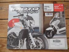 REVUE TECHNIQUE MOTO YAMAHA X-MAX / MBK SKYCRUISER  // SUZUKI GSR 600