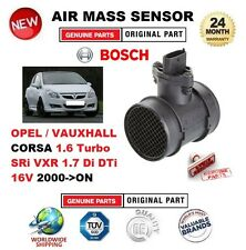 Per Opel Vauxhall Corsa 1.6 TURBO SRI VXR 1.7 DI DTI 16 V 2000-ON Sensore di massa d'aria