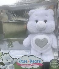 Care Bears TENDERHEART  Bear Limited Edition White Silver Swarovski Crystals