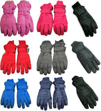 Winter Warm Up Boys Girls Kids Ski Snow Thinsulate Water Resistant Gloves