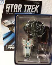 Star Trek Raumschiffsammlung Shuttle The Type-10 Defiant Eaglemoss + eng. OVP