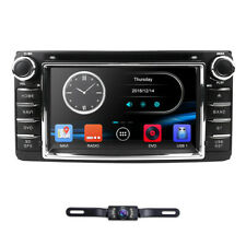 "In Dash BT 6.2"" 2DIN Car Radio Stereo DVD Player GPS Navigation For Toyota +Cam"