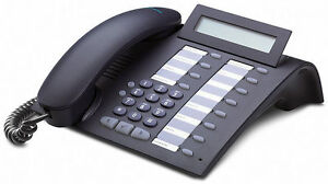 Siemens optiPoint 500 Economy Telephone in Manganese for HiPath system