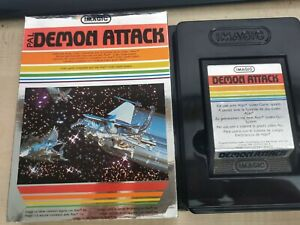 Atari 2600 ~ Demon Attack by IMAGIC Boxed