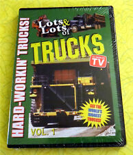 Lots & Lots of Trucks Vol. 1 ~ New DVD Movie ~ Rare Comstruction Farming Video