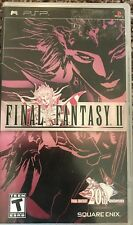Final Fantasy II (Sony PSP, 2007) Playstation Portable - Complete