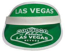 Dealer Visor Green Las Vegas Style  One Size Fits Most - Expandable Headband *