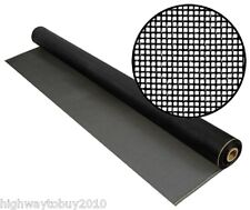 "Phifer 3003519 48"" x 100' Black Fiberglass No-See-Um Lanai Screen Screening"
