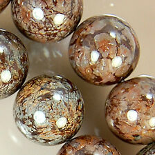 12mm Coffee Jasper Round Beads 15.5""