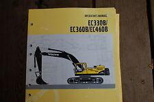 VOLVO EC330B EC360B EC460B EXCAVATOR Operator Owner Operation Manual book guide