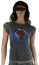 AMPLIFIED THE WHO Strass Logo 68-70 Rock Star Vintage délavé T-Shirt M/L 40