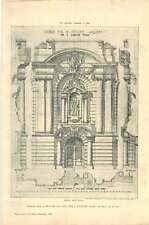 1903 Design For A Picture Gallery For A Country Town Jb Fulton