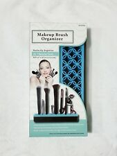 Makeup Brush Holder Display Stand Organizer Only No Brushes No Tools - BLUE