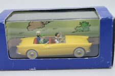 ATLAS COLLECTION * TINTIN * LA VOITURE BORDURE  * 1:43 * OVP * 50S CONVERTIBLE