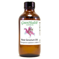 4 fl oz Rose Geranium Essential Oil (100% Pure & Natural) - GreenHealth