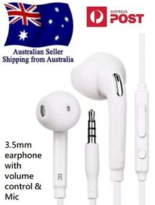 Wired 3.5mm Earphone Headphone Earbud with mic/remote for Samsung Note Galaxy