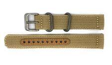 Seiko 5 SNK803 / SNK803K2 Replacement Beige Fabric Watch Strap 4K10JZ