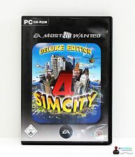 PC Computer Spiel - SIM CITY 4: DELUXE EDITION - Win 98, 2000, ME, XP - in Hülle